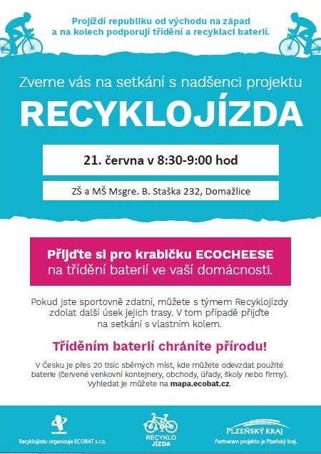 plakát recyklojízda