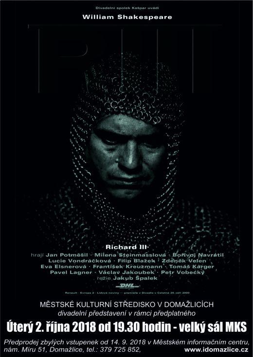 richard třetí divadlo