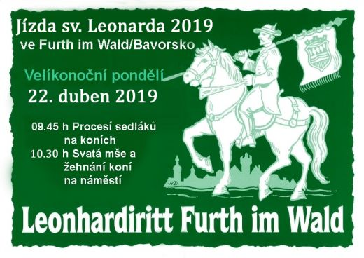 Jízda sv.Leonarda veFurthu 22.dubna
