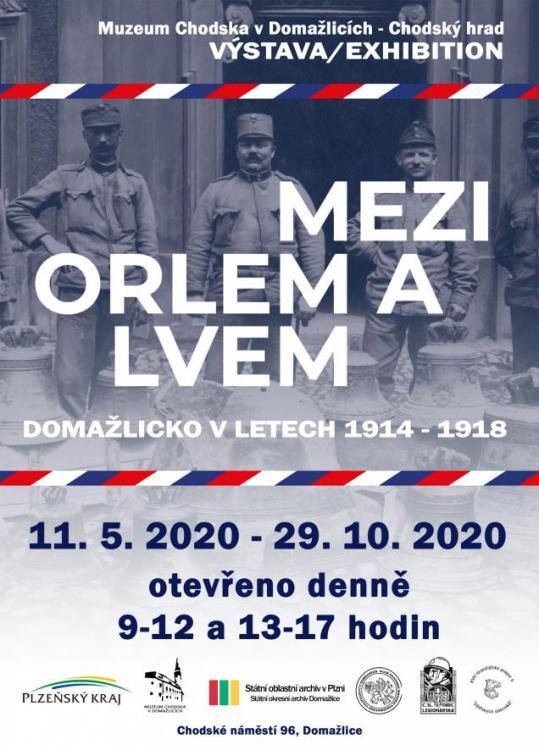 Mezi orlem alvem, výstava vMuzeu Chodska do29. října 2020