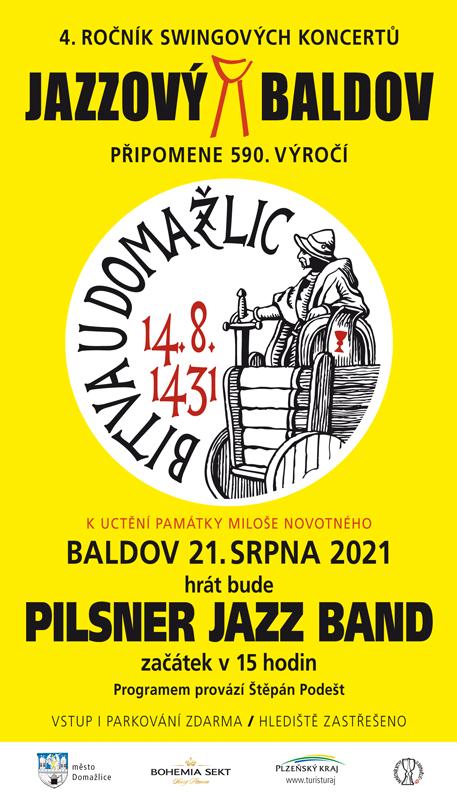 Jazzový baldov 21.srpna od15.00 navrchu Baldov, jste srdečně zváni