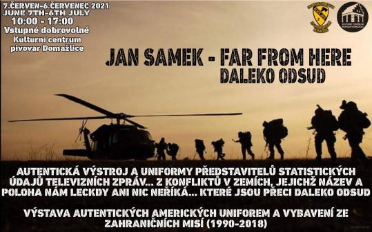 Jan Samek - Far from here - Daleko odsud - výstava vpivovaru